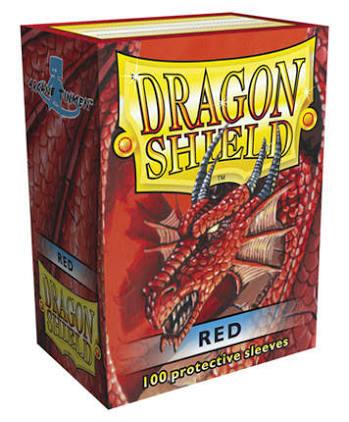 Sleeve Dragon Shield Vermelho