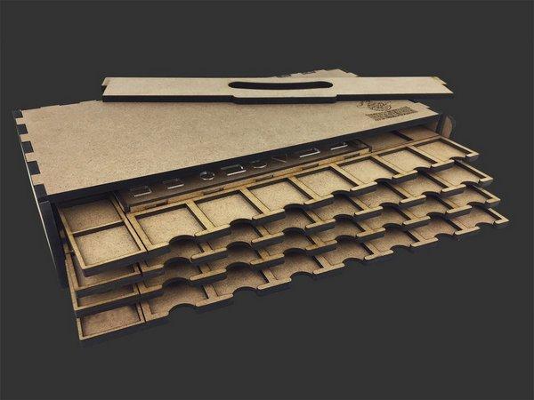 Kit Dashboard para Clans of Caledonia (4 unidades) - COM CASE 1ª edição