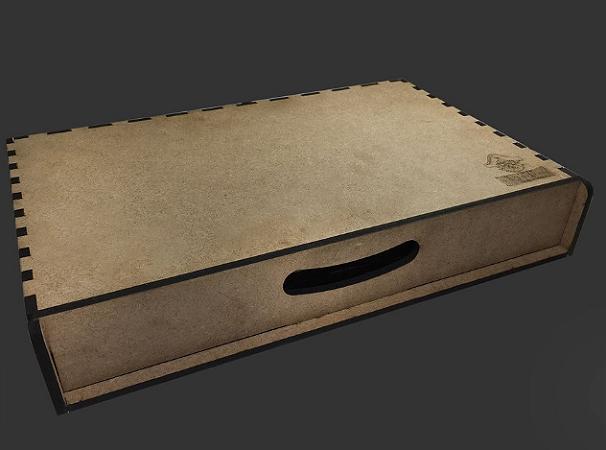 Kit Dashboard para Terra Mystica (com case para armazenamento)