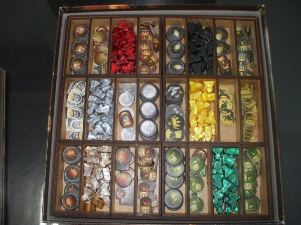 Organizador (Insert) para Game of Thrones (Guerra dos Tronos)