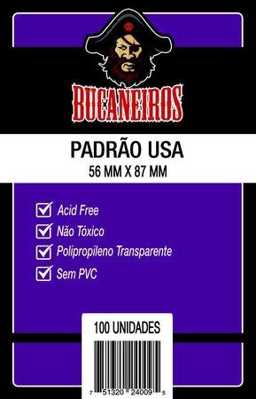 SLEEVE PADRAO USA (56x87) - Bucaneiros