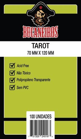 SLEEVE TAROT (70x120) - BUCANEIROS