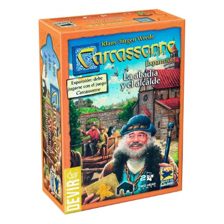 Carcassonne: A Abadia e o Alcaide 2ª edição (expansão)