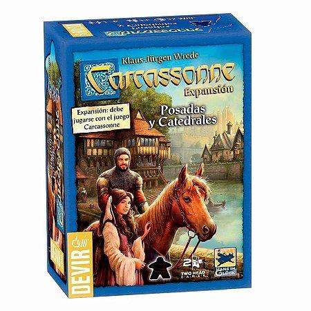 Carcassonne: Estalagens e Catedrais 2ª edição