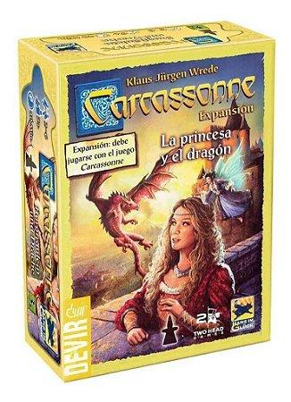 Carcassonne: A Princesa e o Dragão (expansão)