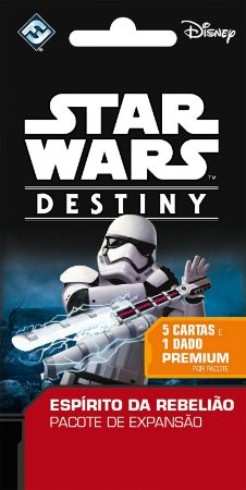Star Wars Destiny - Pacotes de Expansao - Espirito da Rebeliao