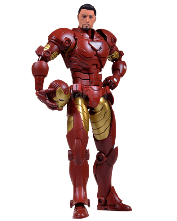 Iron Man Armorize (die-cast) - Action Figure