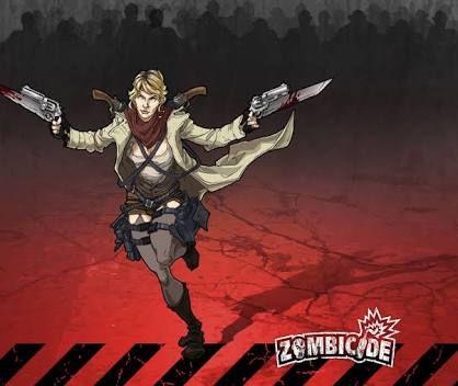 Oksana, a dublê - Sobrevivente Zombicide
