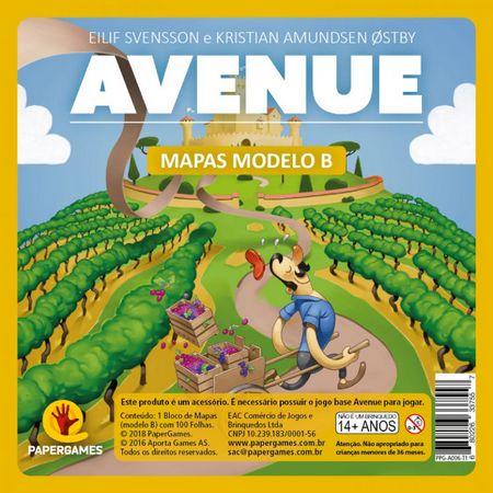 Avenue: Bloco de Mapas B