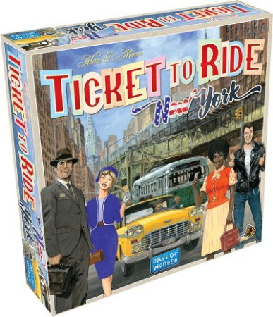 Ticket To Ride New York (PRÉ-VENDA)