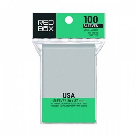 Sleeve Redbox USA (56mm X 87mm)