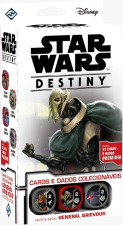 Star Wars Destiny: General Grievous (Pacote Inicial)