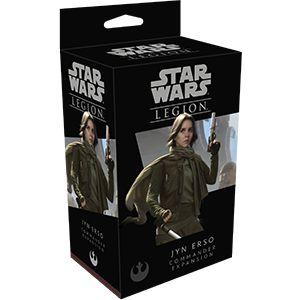 Star Wars Legion: Jyn Erso - Expansão de Comandante