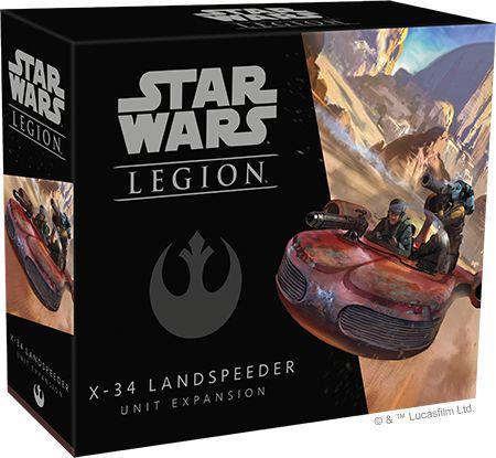 Star Wars Legion: Landspeeder X-34 - Expansão de unidade