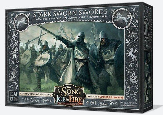 A Song of Ice & Fire - Espadas Juramentadas Stark (Caixa de Unidade)