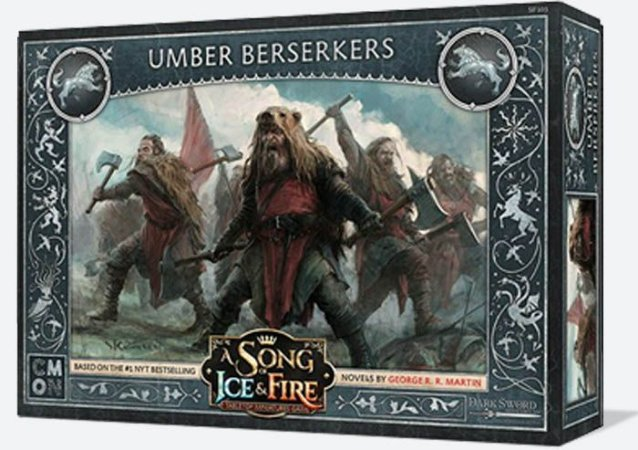 A Song of Ice & Fire - Berserkers Umber (Caixa de Unidade)