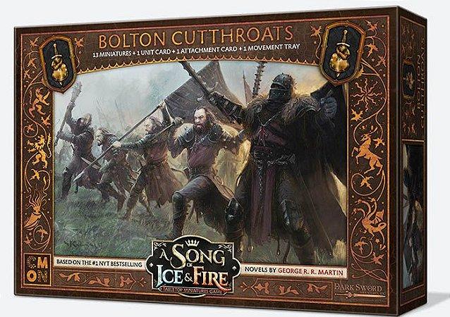 A Song of Ice & Fire - Assassinos Bolton (Caixa de Unidade) (PRÉ-VENDA. PREVISÃO 12/2019)