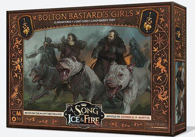 A Song of Ice & Fire - Garotas do Bastardo (Caixa de Unidade) (PRÉ-VENDA. PREVISÃO 12/2021)
