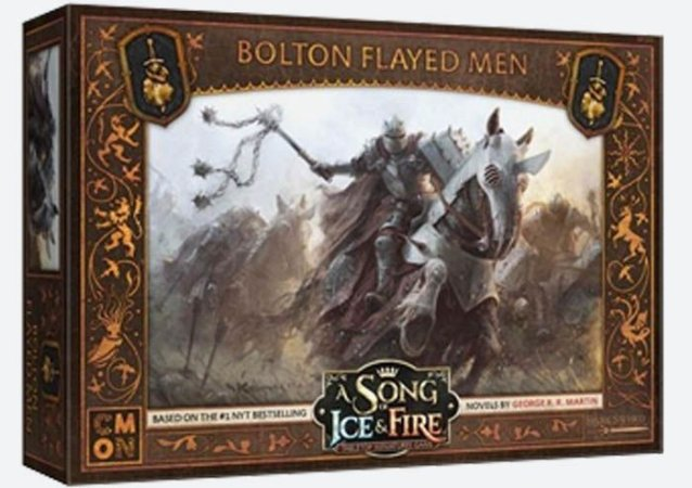 A Song of Ice & Fire - Os Homens Esfolados (Caixa de Unidade) (PRÉ-VENDA. PREVISÃO 12/2019)