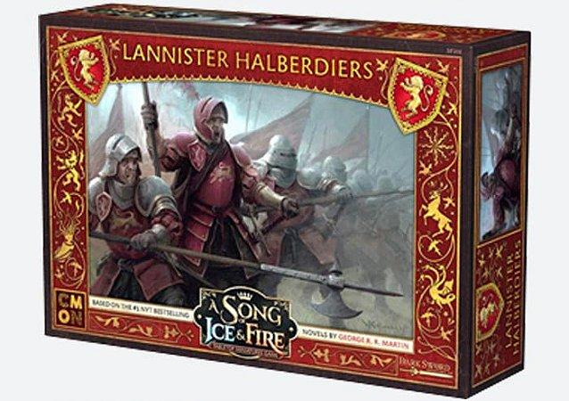 A Song of Ice & Fire - Alabardeiros Lannister (Caixa de Unidade) (PRÉ-VENDA. PREVISÃO 12/2019)