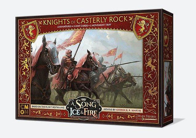 A Song of Ice & Fire - Cavaleiros do Rochedo Casterly (Caixa de Unidade)