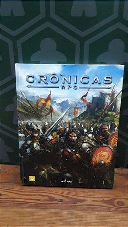 NEW ORDER KIT CRÔNICAS RPG (MERCADO DE USADOS)