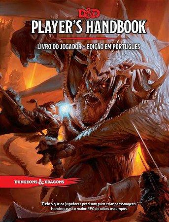 D&D Dungeons & Dragons Livro do Jogador Player's Handbook
