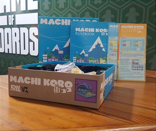 Machi Koro + Exp. Millionaire's Row + Exp. Harbor (MERCADO DE USADOS)