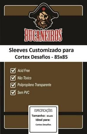 Sleeve Bucaneiros Customizado Cortex Desafios (85mm x 85mm)