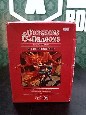 Kit Introdutório D&D Dungeons & Dragons 4 (MERCADO DE USADOS)