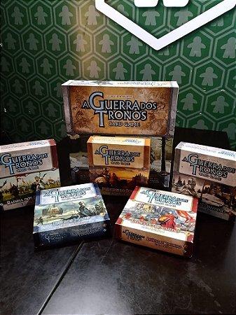 Game of Thrones Card Game + Expansões (MERCADO DE USADOS)