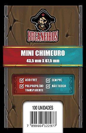 Sleeve Customizado - Mini Chimeuro (43,5 x 67,5) - FIve Tribes e Catan