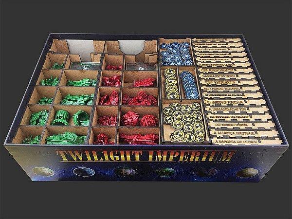 Organizador (Insert) para Twilight Imperium (Quarta Edicao)