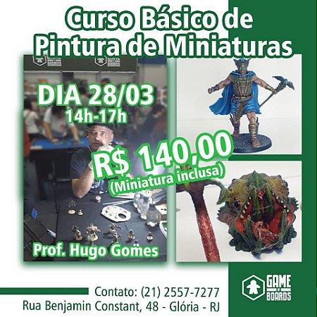 Workshop Pintura de Miniatura (28/03)
