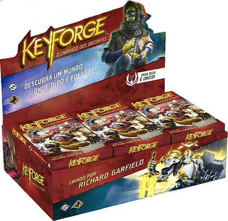 Keyforge Deck Display - Chamado dos Arcontes (com 12 decks)