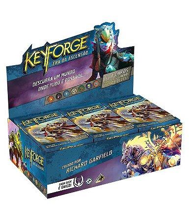 Keyforge Deck Display - Era da Ascensão (com 12 decks)