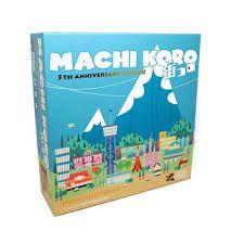 Machi koro edição de 5º aniversário + expansão Harbor