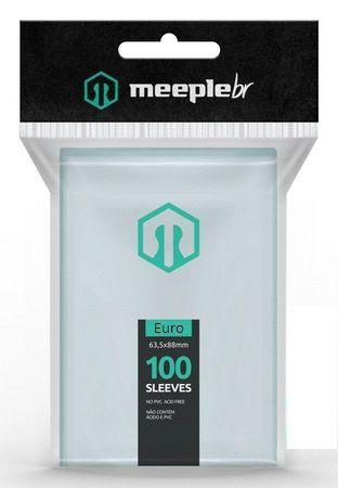 Sleeves MeepleBR - EURO (59x92mm)