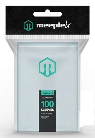 Sleeves MeepleBR - CHIMERA (57,5x89mm)
