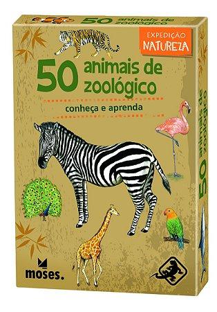 50 Animais de Zoológico (Venda Antecipada)