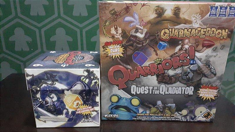 Quarriors + Expansão Quarmageddom(Mercado De Usados)