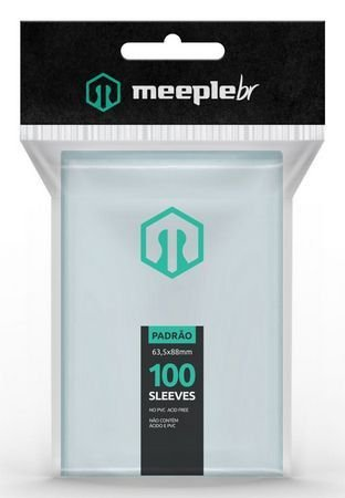 Sleeves MeepleBR - PADRAO (63,5x88mm)