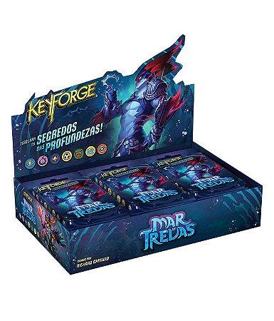 Keyforge Deck Display - Mar De Trevas (com 12 decks)