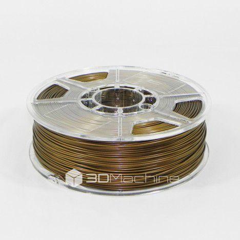 Filamento PLA Ocre metalizado