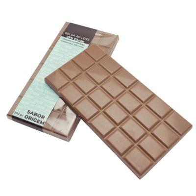 Tablete Origem Chocolate ao Leite Belga - 200g