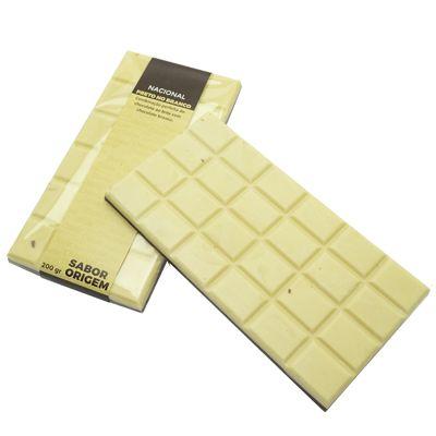 Tablete Origem ao Leite e Branco - 200g