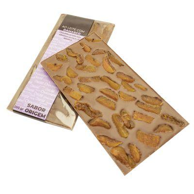 Tablete Origem Chocolate ao Leite com Damasco - 200g