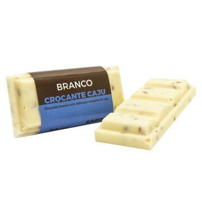 Tablete Origem Chocolate Branco com Crocante de Caju - 30g