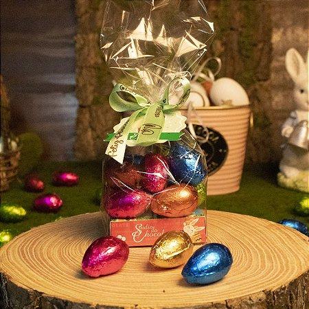 Saquinho com Ovinhos de Chocolate - 300g