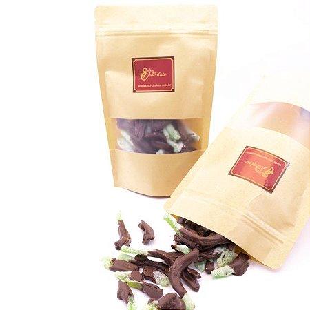 Delícia de Chocolate - Tiras de Limão